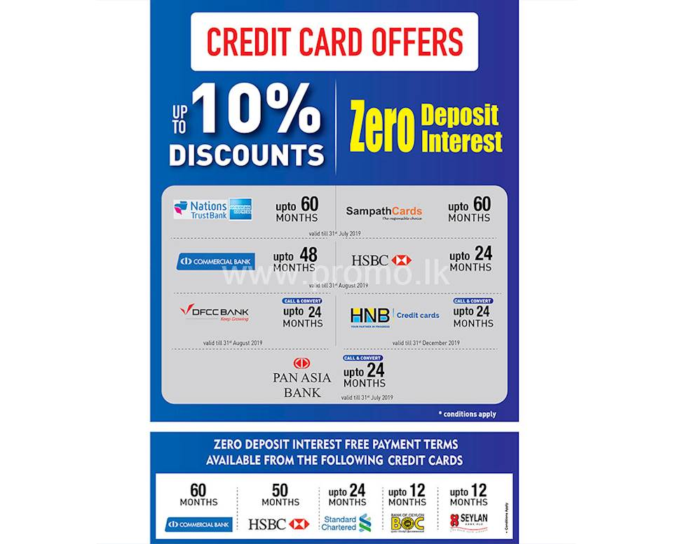 Up to 10% Off and Zero Deposit Interest at Damro