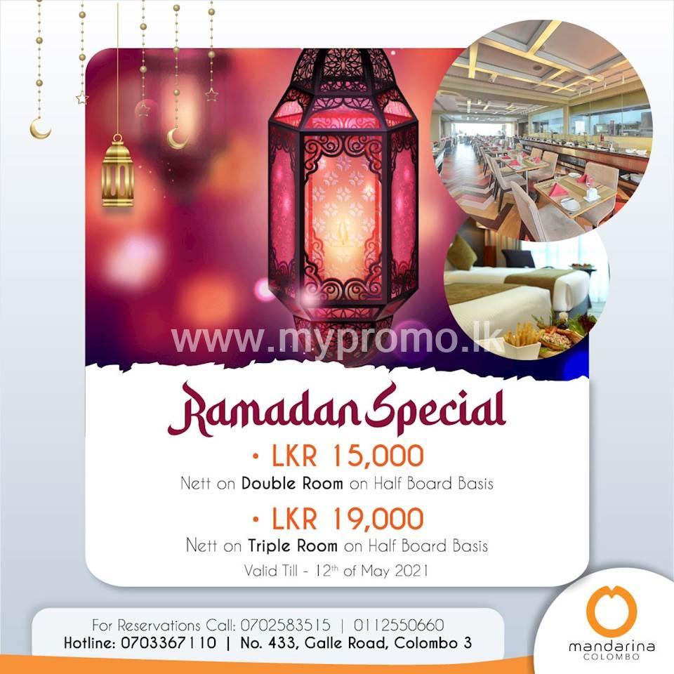 Ramadan Special at Mandarina Colombo