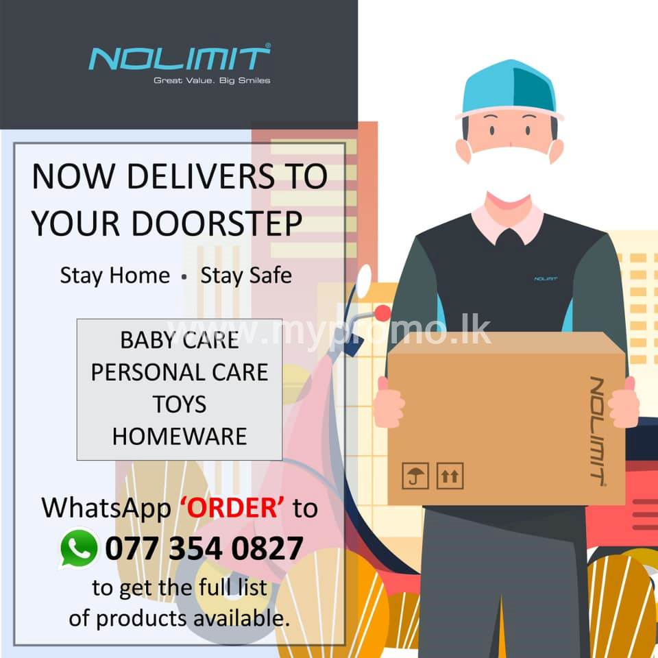 Baby Care, Personal Care, Homeware and Toys delivered to your doorstep from Nolimit