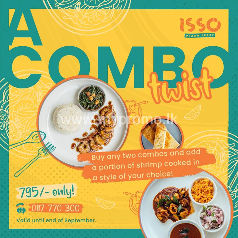Combo Twist at ISSO