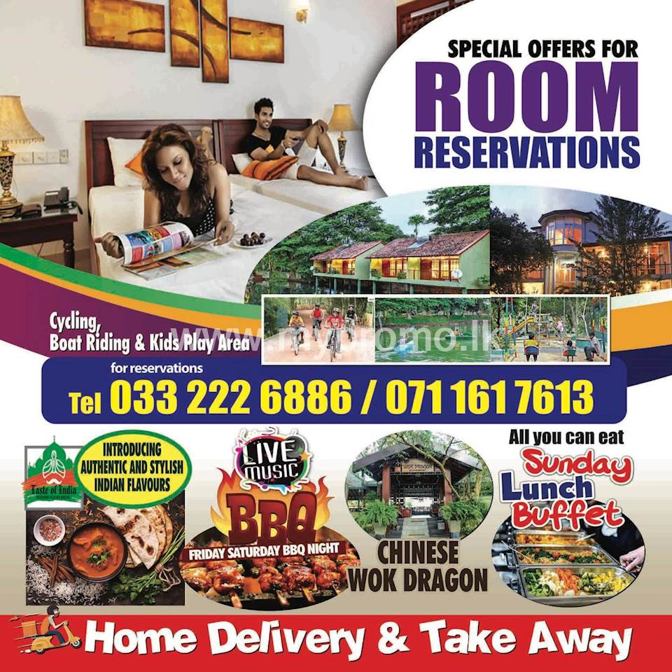 Special Offers For Room Reservations at WET WATER Resort