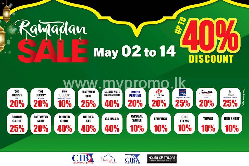Ramadan Sale at CIB Shopping Centre
