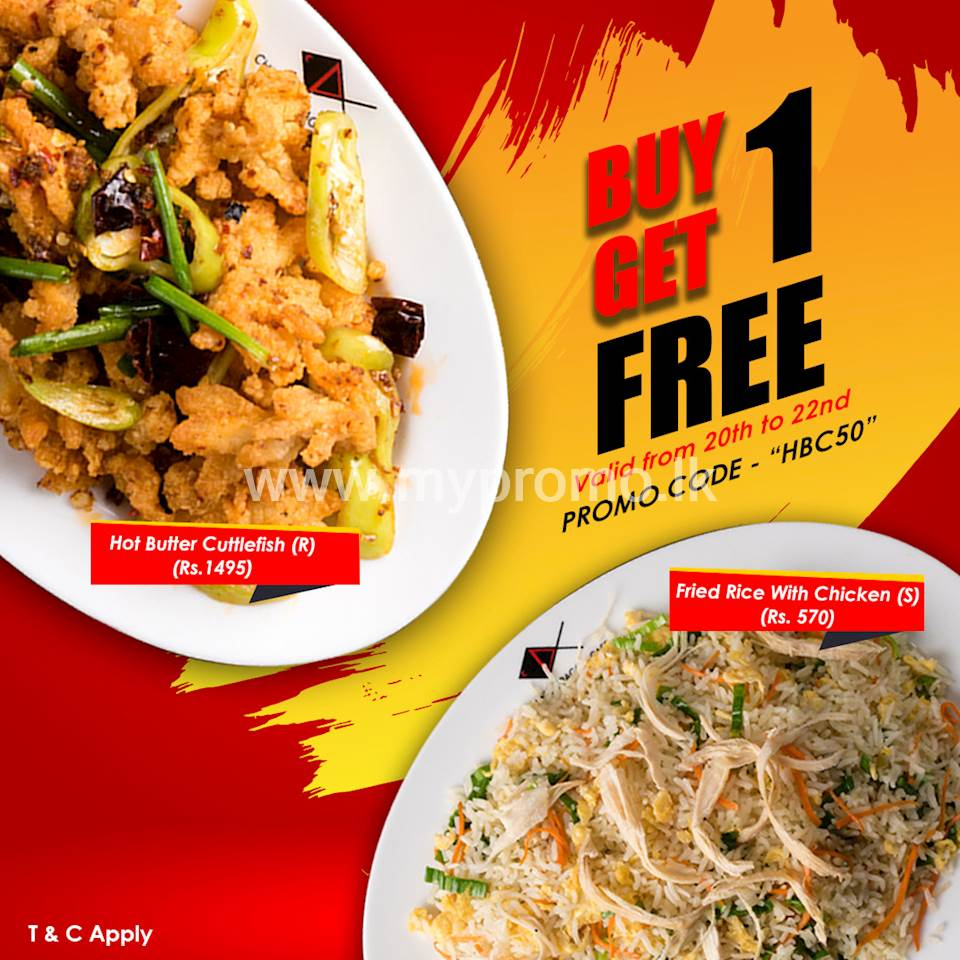 Buy 1 get 1 Free - Save Rs. 570 + Free Delivery at Chinesedragoncafe