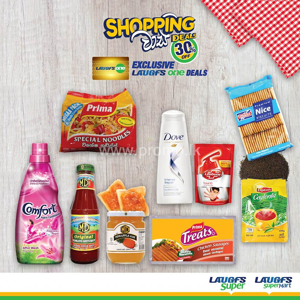 A MASSIVE 30% Off on a range of Daily Essentials this June at LAUGFS Super