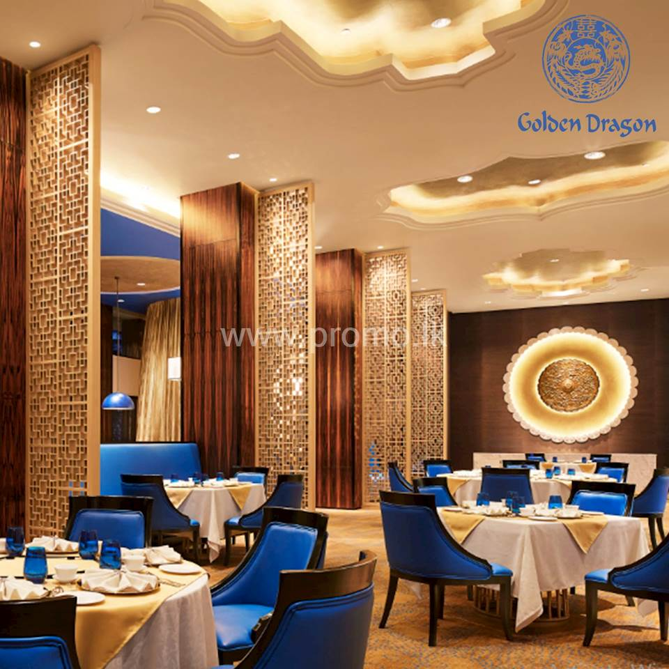 30% Discount Upto 30th June 2020 at Golden Dragon by Taj Samudra Colombo for BOC World Mastercard Credit Card Holders