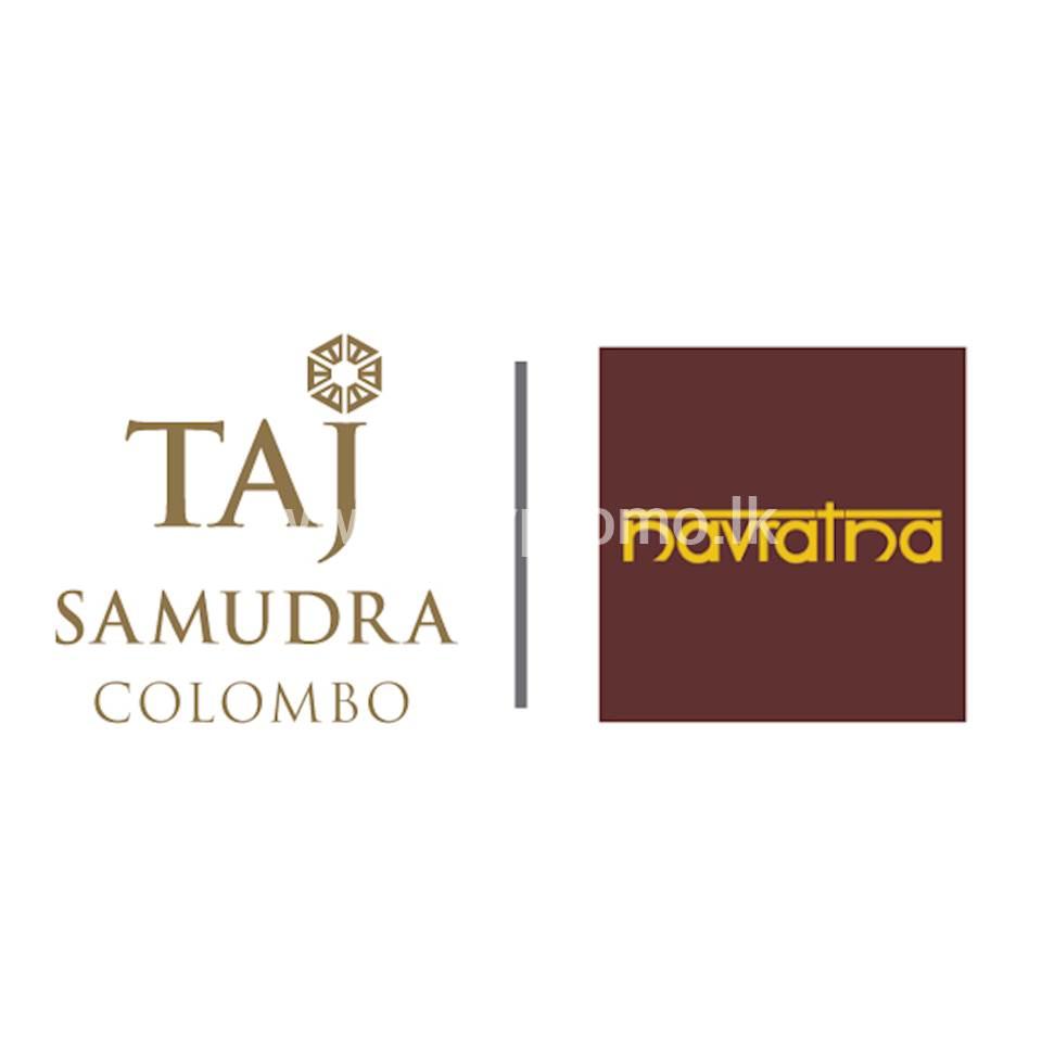 Enjoy 20% Savings on lunch & dinner Taj Colombo - Navratna