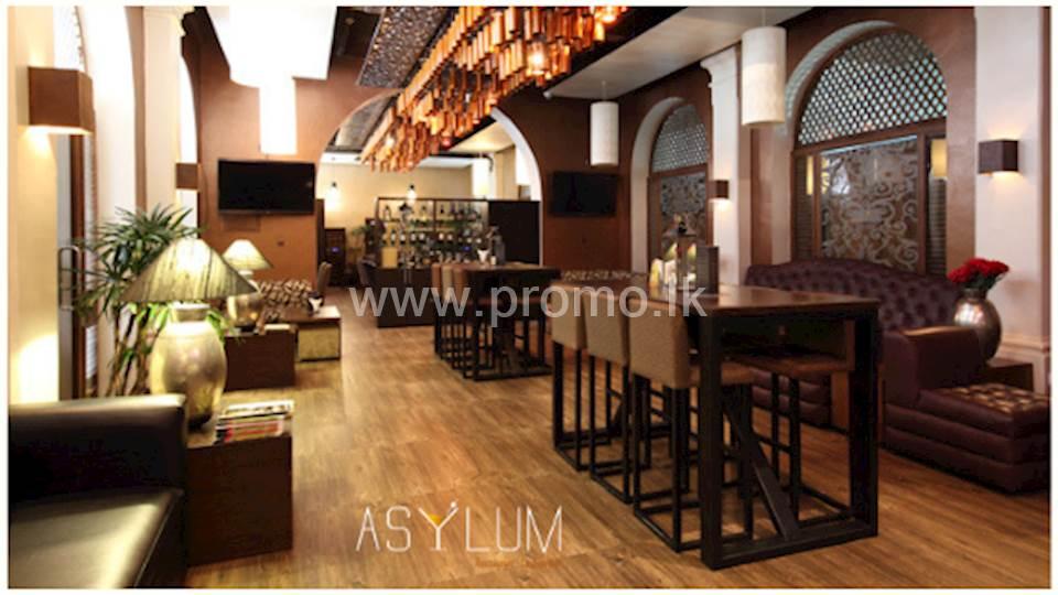 20% Discount Upto 30th June 2020 at Asylum Restaurant & Lounge Bar for BOC World Mastercard Credit Card Holders