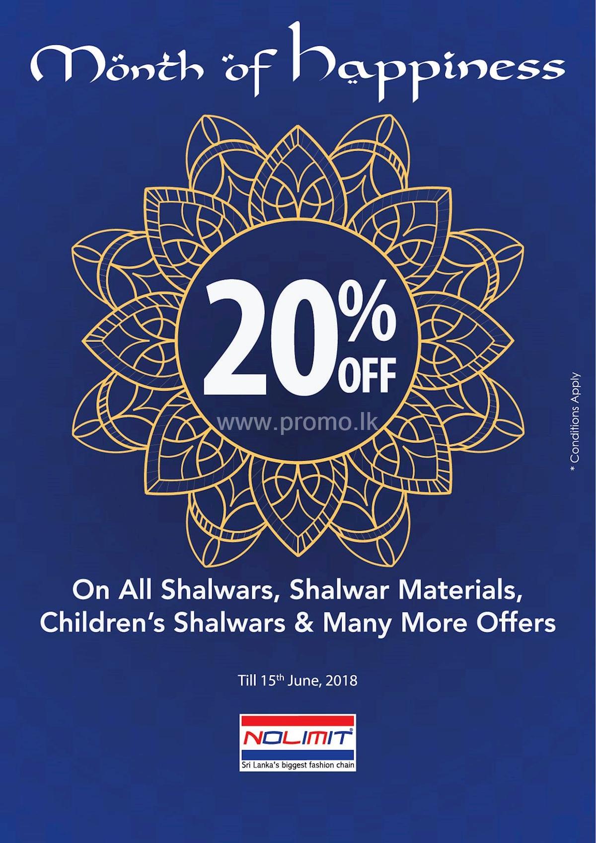 Ramadan Festive Offers from Nolimit