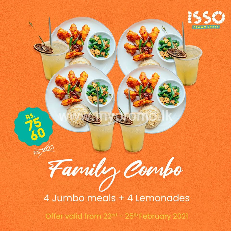 Family combo at Isso