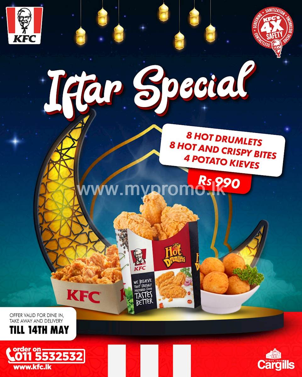 KFC Iftar Special for 990/-