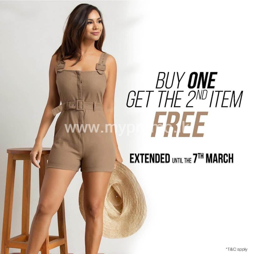 Buy 1 Get 2nd item FREE at Kelly Felder