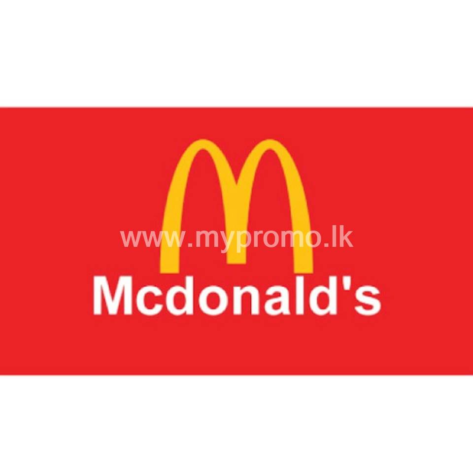 Enjoy a Mc Spicy Chicken Burger Complimentary when you buy a Large Meal with American Express at McDonalds