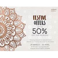 Amazing Offers on Selected Items at Mahogany Masterpieces
