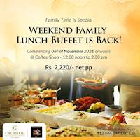 Weekend Family Lunch Buffet at Galadari Hotel
