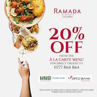 Save big with these amazing credit card offers from HNB and DFCC Bank at Ramada Colombo