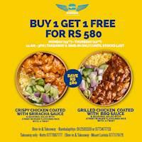 Buy 1 Get 1 Free at Street Burger