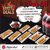 Hot Deals -Pack 24 at Pizza hut