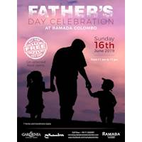 Fathers Day BUY ONE GET ONE FREE offer on selected food items at Ramada Colombo