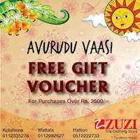 Get a FREE Voucher when purchase over Rs. 2500/-
