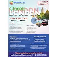 Classic London Van Tour by Worldwide DMC