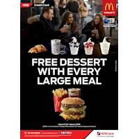 Free Dessert with Every Large Meal at McDonald's Sri Lanka With NDB Credit Cards
