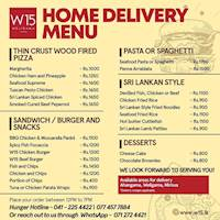 W15 Weligama - Get a variety of delicious food delivered to your doorstep.