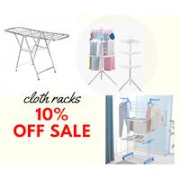 10% Off CLOTH RACKS at kidsexpress.lk