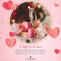 High Tea at The Kingsbury Hotel for this valentines day