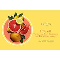 15% Off on The Seasonal Body Treatment and Facial as a package at Sothys Sri Lanka