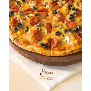 Buy 1 Get 1 Free from Harpo's Pizza