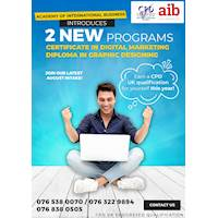 Certificate in Digital Marketing and Diploma in Graphic Designing