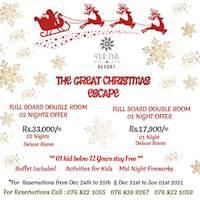 Celebrate the joy of Christmas at Suriya Resort