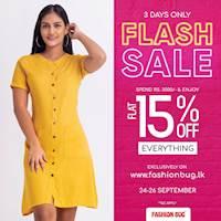 Flash Sale at www.fashionbug.lk