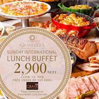 Sunday International Lunch Buffet at GRANDEEZA