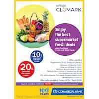Enjoy the best supermarket fresh deals with ComBank Credit and Debit Cards.