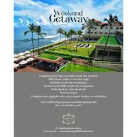 Weekend Getaway Package at Galle Face Hotel