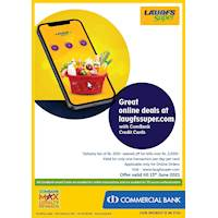 Great online deals at laugfssuper.com with ComBank Credit Cards