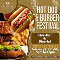 The Hot Dog & Burger festival at GRANDEEZA