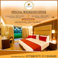 Special weekend offer at the Pegasus Reef