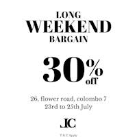 Enjoy 30% off on Laptop Bags, Ladies Clutches and Jewellery at Leather Collection