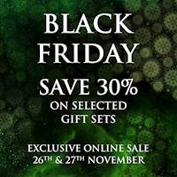 Black Friday sale! Enjoy 30% off on selected & assorted gift sets when you shop online at Spa Ceylon Luxury Ayurveda