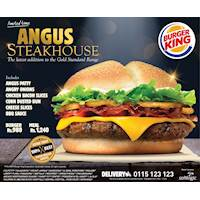 Angus Steakhouse - The latest addition to the Gold Standard Range at Burger King Sri Lanka