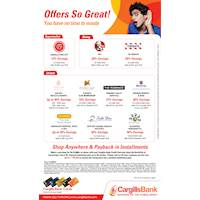 Awesome Credit Card Offers at Cargills Bank