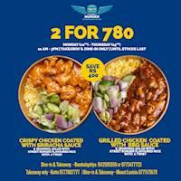 2 For 780 at Street Burger