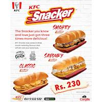 KFC Sri Lanka Snacker Deal