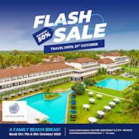 Flash Sale at The Blue Water