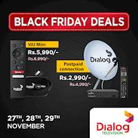 Dialog Television BLACK FRIDAY DEALS with amazing discounts!