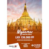 Myanmar Tour with Travel JO