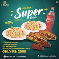 Super Combo for Rs 2000 at La Rose Blanc