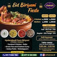 EID Biriyani Fiesta at Chana's